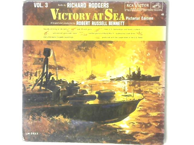 Victory At Sea (Pictorial Edition) Vol. 3 LP By Richard Rodgers