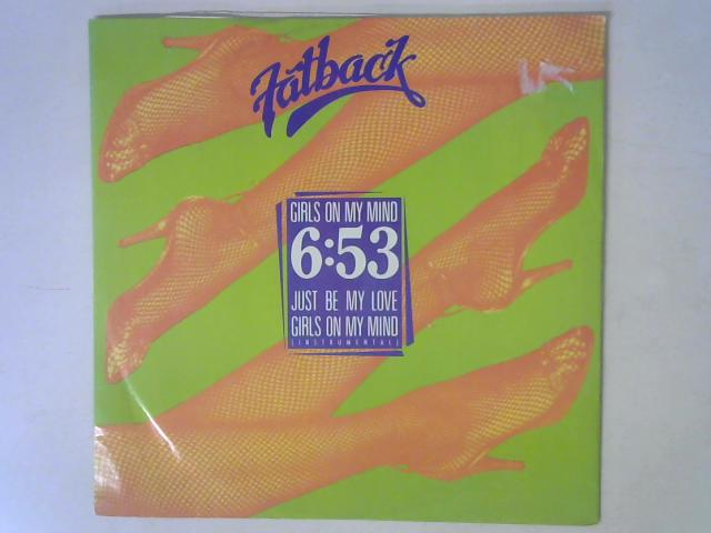 Girls On My Mind 12in Single By The Fatback Band