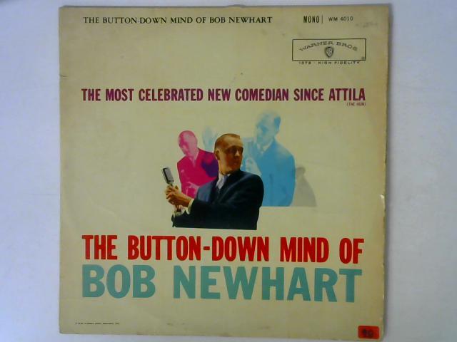 The Button-Down Mind Of Bob Newhart LP MONO By Bob Newhart