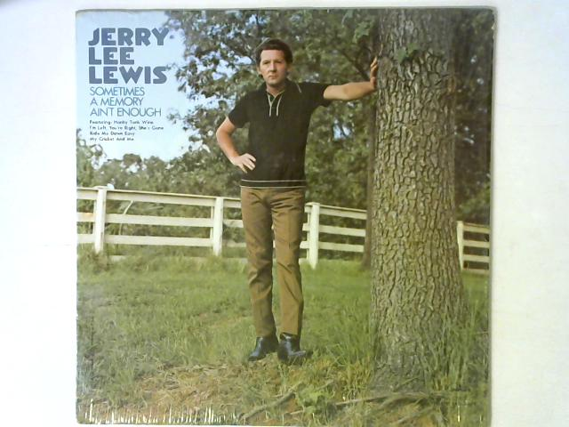 Sometimes A Memory Ain't Enough LP By Jerry Lee Lewis