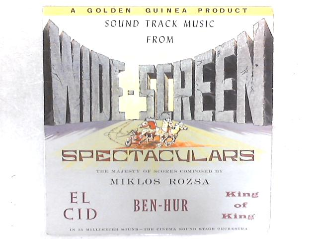 Sound Track Music From Wide-Screen Spectaculars LP By The Cinema Sound Stage Orchestra