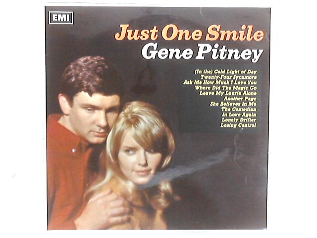 Just One Smile LP By Gene Pitney
