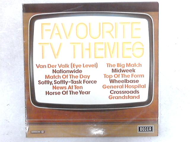 Favourite TV Themes LP By Ray Martin And His Orchestra