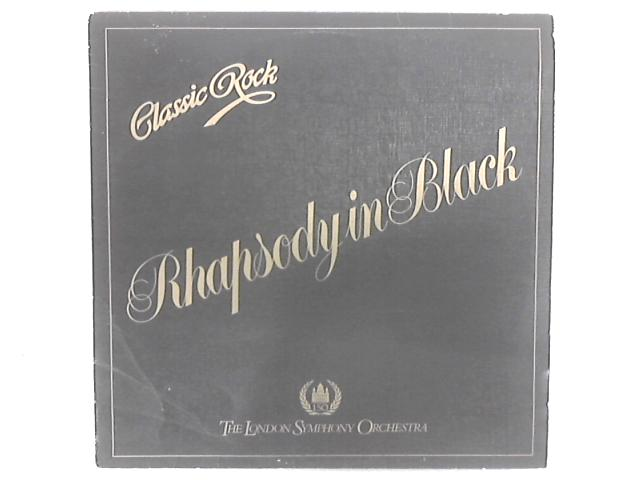 Classic Rock Rhapsody In Black LP By The London Symphony Orchestra