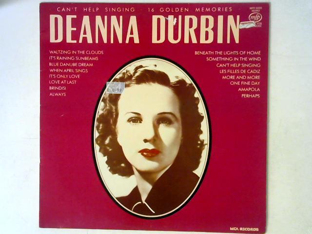 Can't Help Singing LP MONO By Deanna Durbin