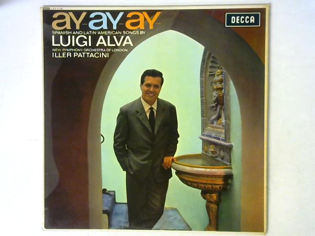Ay-Ay-Ay LP MONO By Luigi Alva