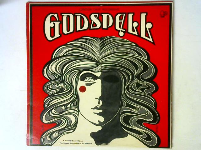 """Godspell LP By """"Godspell"""" Original London Cast"""