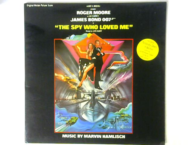 The Spy Who Loved Me (Original Motion Picture Score) LP By Marvin Hamlisch