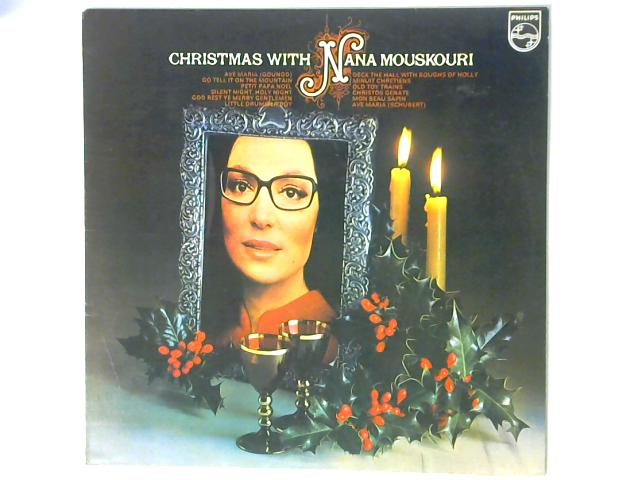 Christmas With Nana Mouskouri LP By Nana Mouskouri