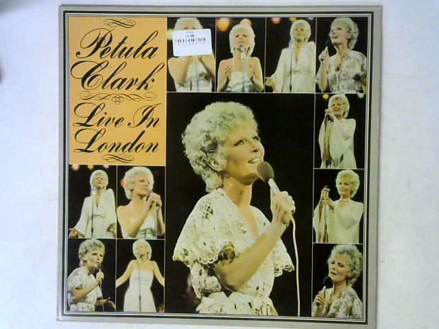 Live In London LP By Petula Clark