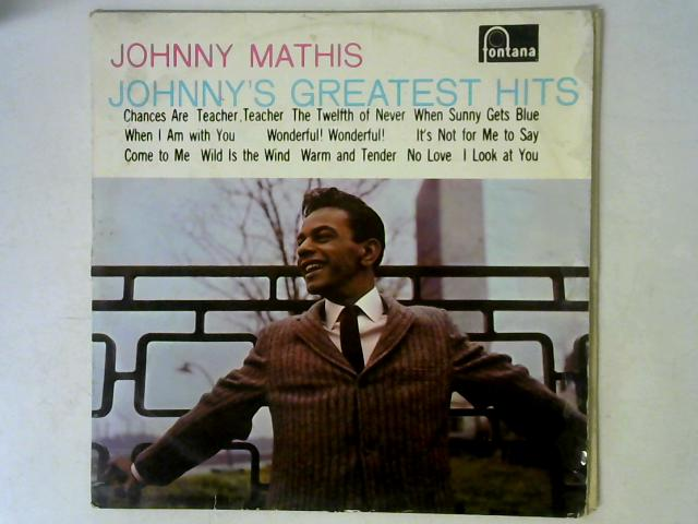 Johnny's Greatest Hits LP By Johnny Mathis