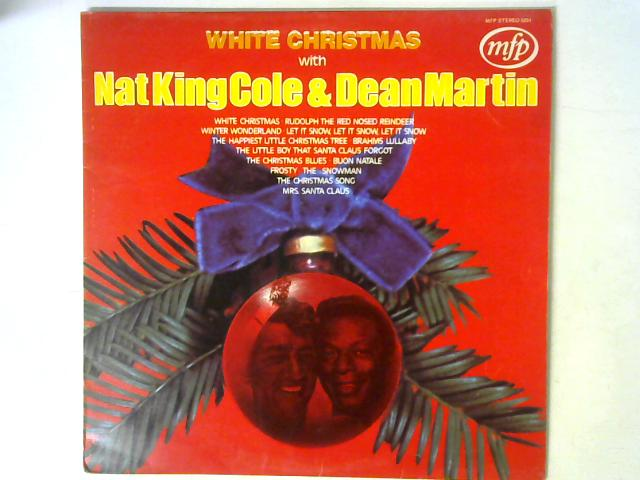 White Christmas With Nat King Cole & Dean Martin LP By Nat King Cole (Vinyl) | Used ...