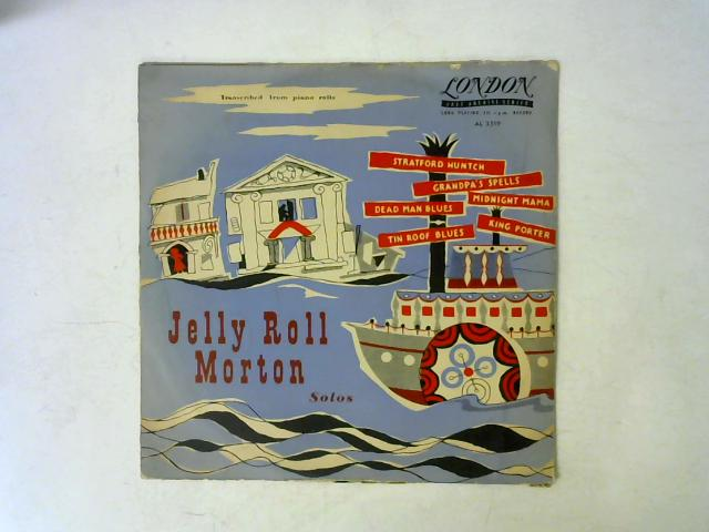 Solos 10in LP By Jelly Roll Morton