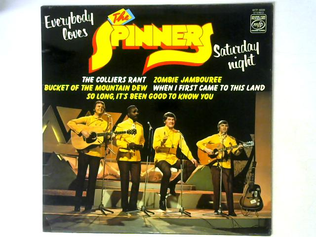 Everybody Loves Saturday Night LP By The Spinners