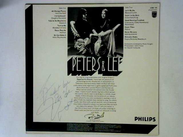 We Can Make It LP Signed By Peters & Lee