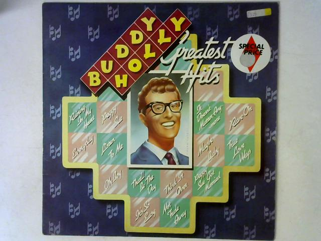 Greatest Hits LP By Buddy Holly