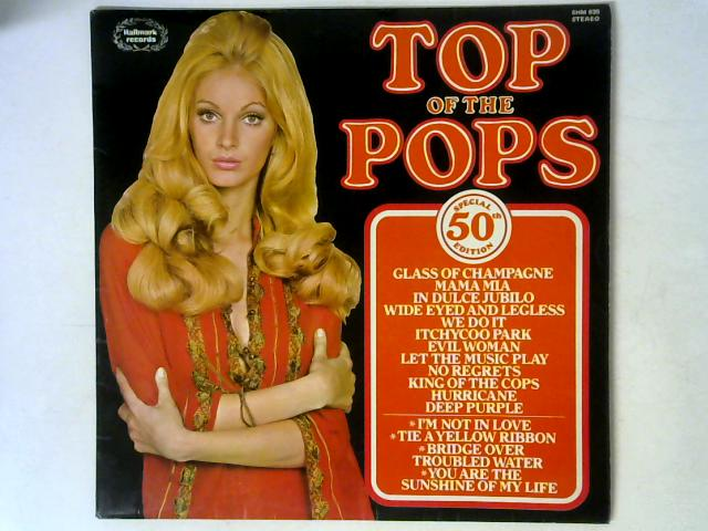 Top Of The Pops Vol. 50 Special 50th Edition LP By Unknown Artist