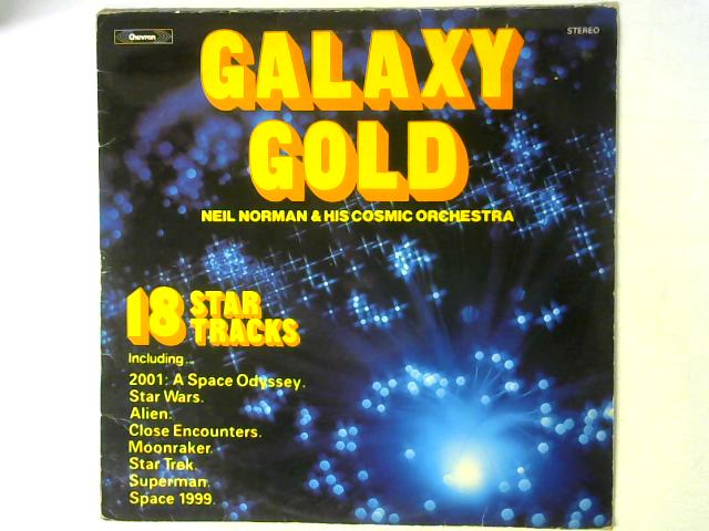 Galaxy Gold LP By Neil Norman And His Cosmic Orchestra