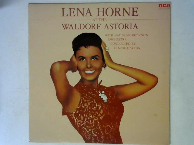Lena Horne At The Waldorf Astoria LP By Lena Horne