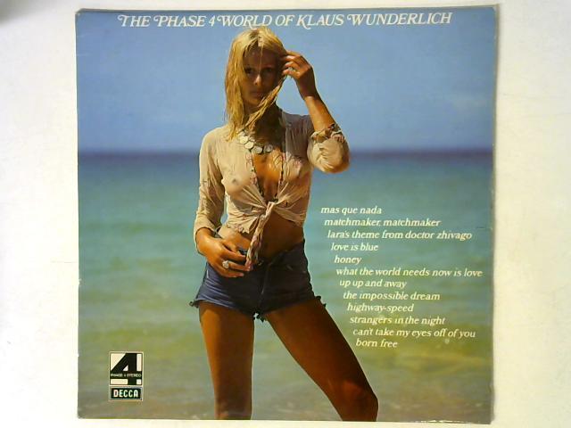 The Phase 4 World Of Klaus Wunderlich LP By Klaus Wunderlich