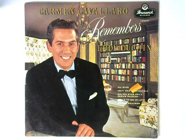 Carmen Cavallaro Remembers Eddy Duchin LP By Carmen Cavallaro