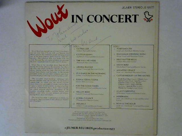 In Concert LP Signed By Wout Steenhuis
