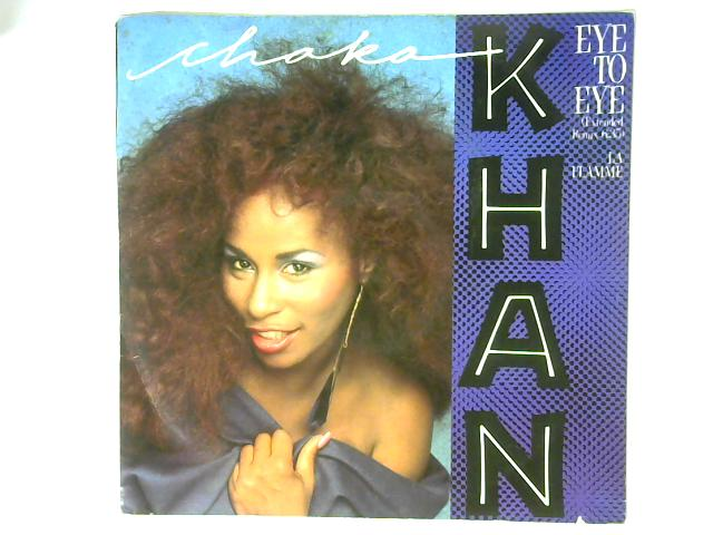 Eye To Eye (Extended Remix: 6.35) 12in Single By Chaka Khan