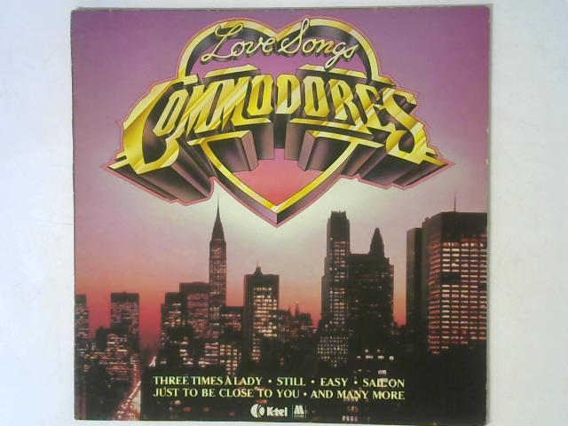 Love Songs LP By Commodores