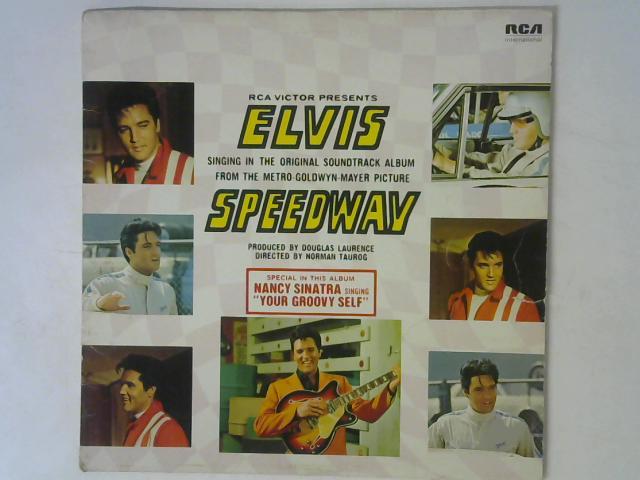 Speedway: Original Soundtrack Album LP By Elvis Presley