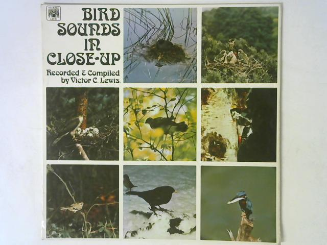 Bird Sounds In Close Up LP MONO By Victor C. Lewis