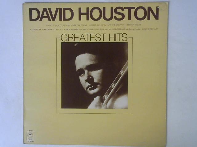 David Houston's Greatest Hits LP By David Houston