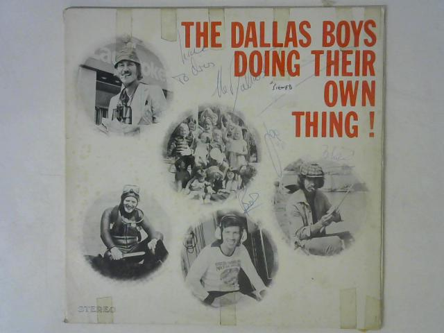 Doing Their Own Thing LP Signed By The Dallas Boys