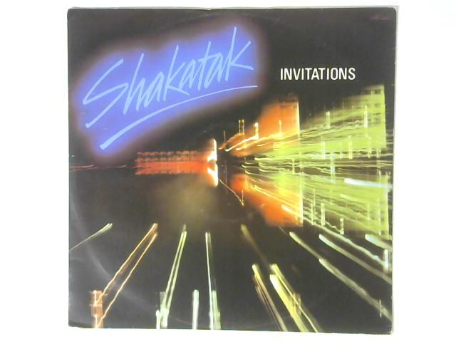 Invitations 12in Single By Shakatak