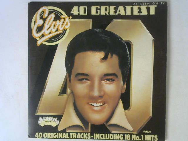 40 Greatest Hits 2x LP By Elvis Presley