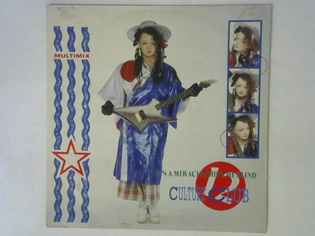 It's A Miracle / Miss Me Blind 12in Single By Culture Club