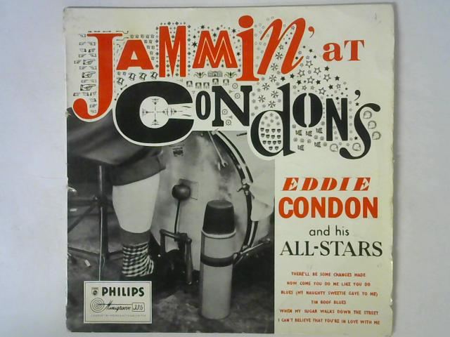 Jammin' At Condon's LP By Eddie Condon And His All-Stars