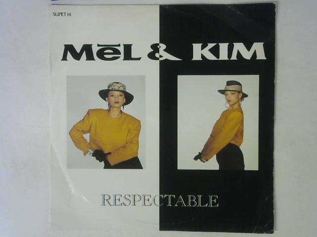 Respectable 12in Single By Mel & Kim
