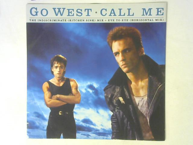 Call Me (The Indiscriminate Mix) 12in Single By Go West