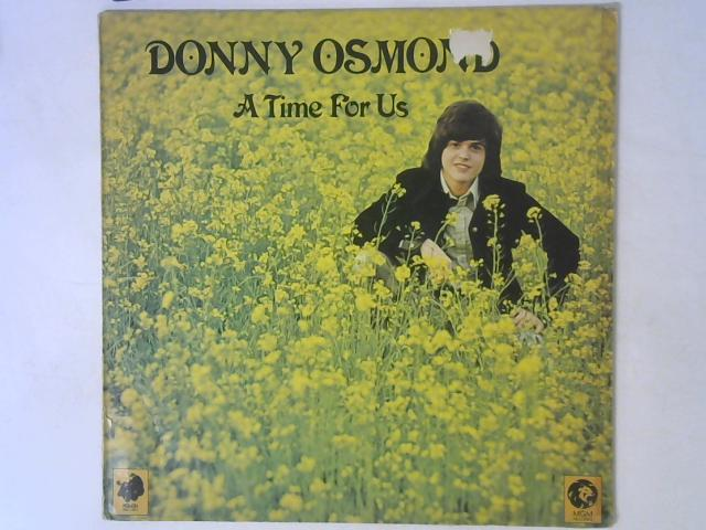 A Time For Us LP By Donny Osmond