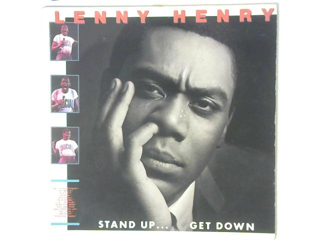 Stand Up...Get Down LP By Lenny Henry