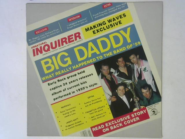 Big Daddy. What Really Happened To The Band Of '59 LP By Big Daddy