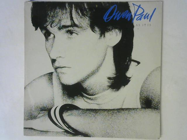 As It Is ... LP By Owen Paul