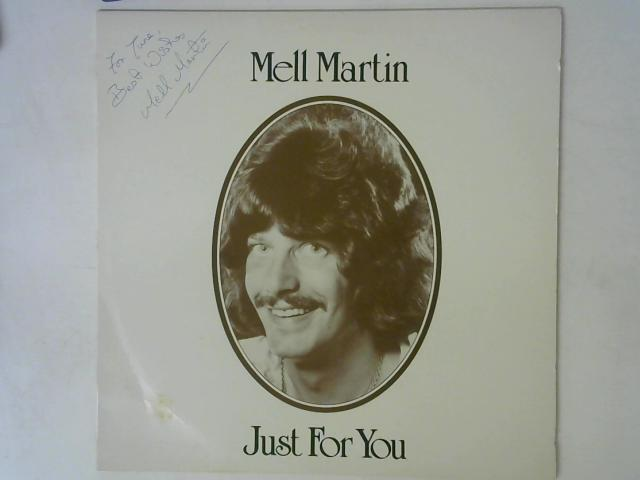 Just For You LP Signed By Mell Martin