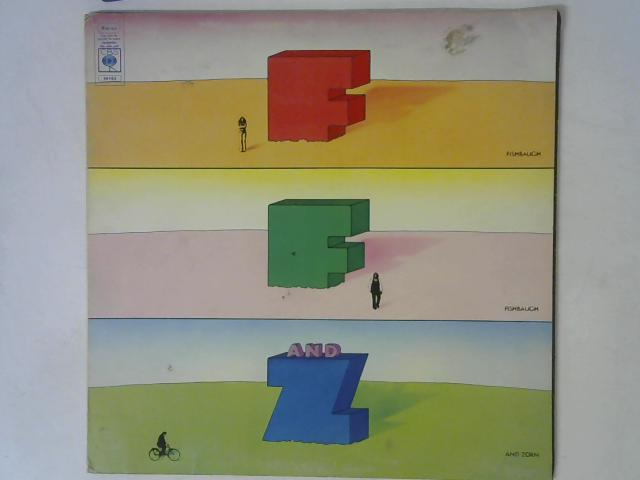 Fishbaugh, Fishbaugh And Zorn LP By Fishbaugh, Fishbaugh & Zorn