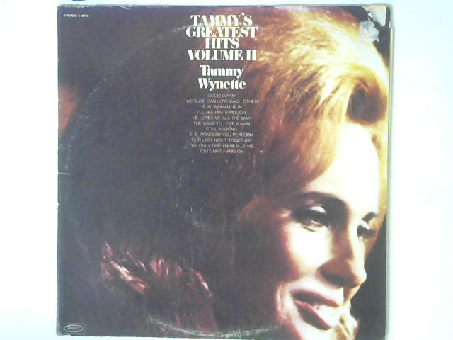 Tammy's Greatest Hits, Volume II LP By Tammy Wynette