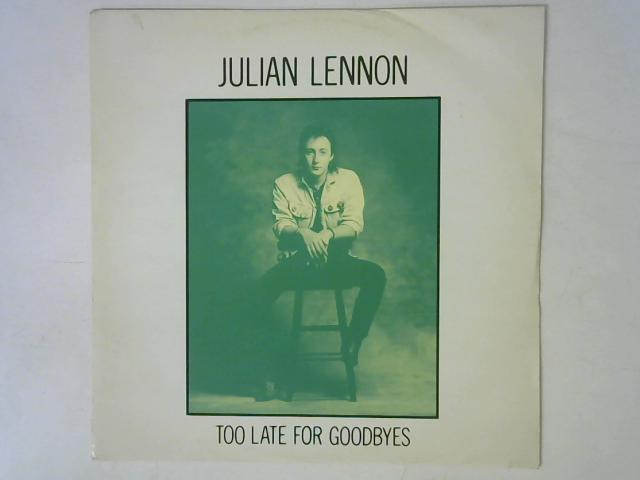 Too Late For Goodbyes 12in Single By Julian Lennon