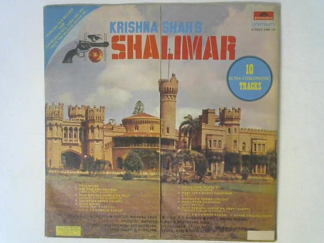 Shalimar LP By R. D. Burman