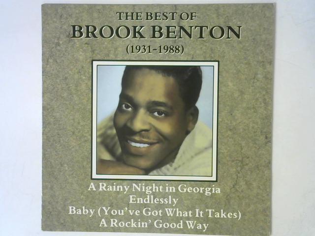 The Best Of Brook Benton (1931-1988) LP By Brook Benton