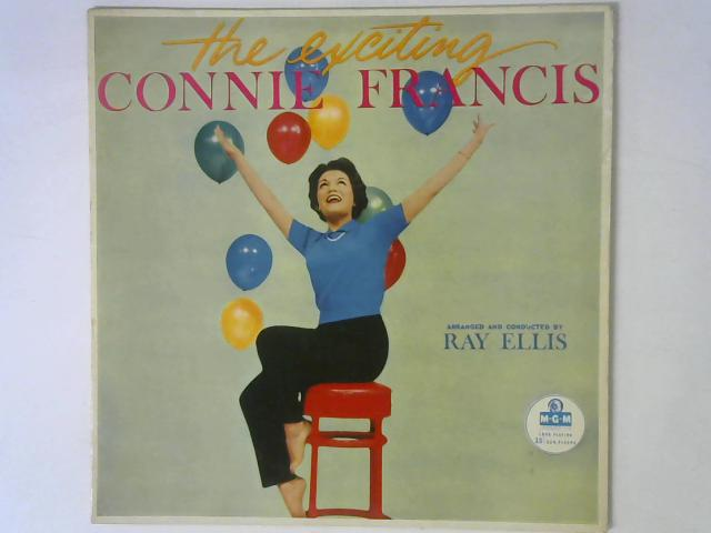 The Exciting Connie Francis LP By Connie Francis