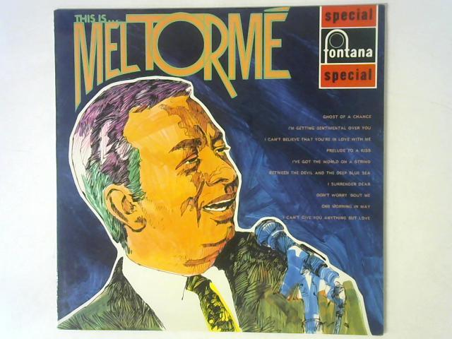This Is . . . Mel Tormé LP By Mel Torm